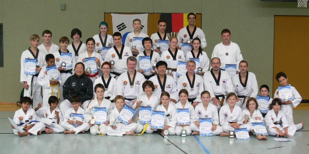 Gruppenfoto Trainingslager 2014